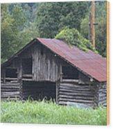 Country Farm Life Wood Print