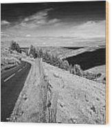 Country Mountain Road Through Glenaan Scenic Route Glenaan County Antrim Northern Ireland  Wood Print