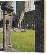 County Kilkenny, Ireland Jerpoint Abbey Wood Print