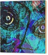 Courage - Trouble Don't Last Always Wood Print by Fania Simon