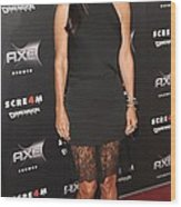 Courteney Cox Wearing The Row Wood Print by Everett