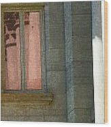 Courthouse Window 3 Wood Print