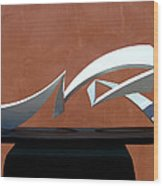 Courtship Of Amphitrite Wood Print