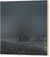 Cove Point Lighthouse Wood Print