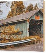 Covered Bridge 3 Wood Print