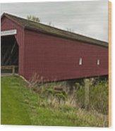 Covered Bridge Zumbrota 1 Wood Print