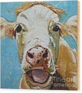 Cow 310 Wood Print