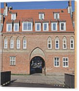 Cow Gate In Gdansk Wood Print
