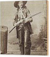 Cowboy, 1880s Wood Print by Granger