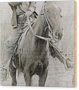 Cowboy Robber, C1900 Wood Print