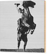 Cowboys, 1909 Wood Print