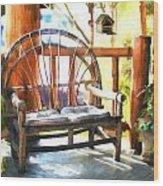 Cozy Corner Wood Print