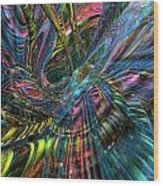 Cr8zy Butterfly Fx  Wood Print