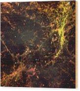 Crab Nebula Wood Print
