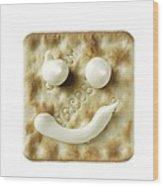 Cracker Wood Print