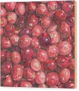 Cranberries Wood Print