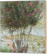 Crape Myrtle Wood Print