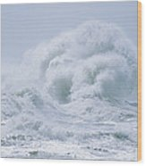 Crashing Backwash Waves At Cape Wood Print