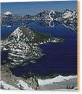 Crater Lake National Park, Oregon Wood Print