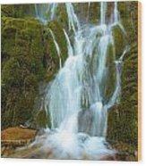 Crater Lake Vidae Falls Wood Print