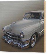 Cream Caddy Wood Print