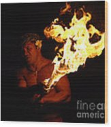 Creating With Fire Wood Print