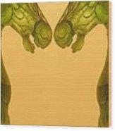 Creation 125 Wood Print