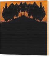 Creation 191 Wood Print
