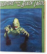 Creature From The Black Lagoon, 1954 Wood Print by Everett