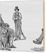 Creek Chiefs & Squatter Wood Print
