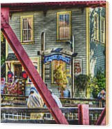 Creek Street - Ketchikan Alaska Wood Print