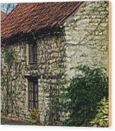 Creeper Cottage Wood Print