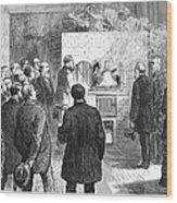 Cremation, 1876 Wood Print