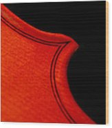 Crescendo Wood Print by Lisa Phillips