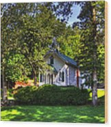 Crescent Hill Baptist Church Wood Print