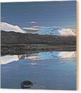 Crianlarich Sunset Wood Print