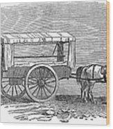 Crimean War: Ambulance Wood Print