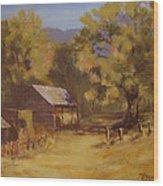 Crippen Ranch Wood Print