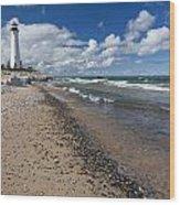 Crisp Point Lighthouse 13 Wood Print