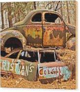 Cristian's Cousin Wood Print
