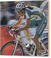 Criterium Bicycle Race 2 Wood Print