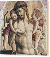 Crivelli: Pieta Wood Print