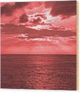 Cromer Sky Wood Print