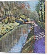Cromford Canal Wood Print