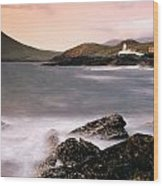 Cromwell Point Lighthouse, Valentia Wood Print