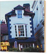 Crooked House Of Windsor Wood Print