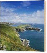Crookhaven, Co Cork, Ireland Most Wood Print