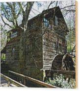 Cross Eyed Cricket Grist Mill Wood Print
