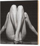 Crossed Legs - Duplex Wood Print