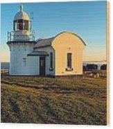 Crowdy Head Lighthouse  Wood Print